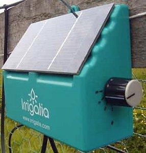 Irrigation solar powered