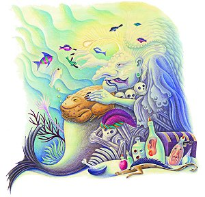 Amanda Hall's The Sea Witch Giclee Print