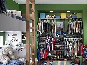 Elegant ClosetMaid Storage Solutions