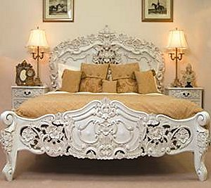 Newtons furniture decoration access for French baroque bed