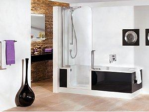 The New Twinline Shower Bath