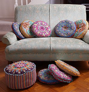Pin Designer Embroidered Cushion Covers Pillow Pictures on Pinterest