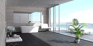 The Geo Limestone Bath