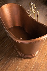 The Camborne Freestanding Copper Bath
