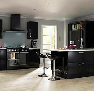 Little Black Kitchen