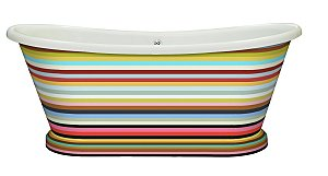 BC Designs striped boat bath