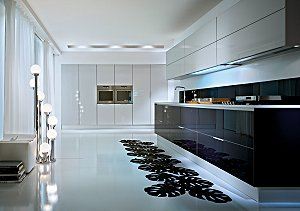 Ex-display Pedini Glass Kitchen