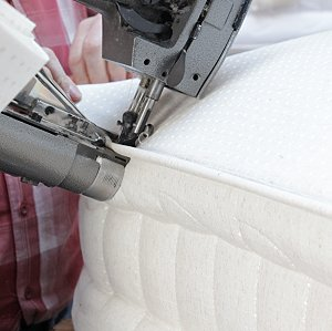 luxury mattress being made