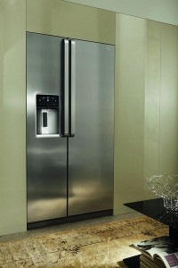 Whirlpool's 'A++' energy rated  WSX 53782 FCX  side-by-side fridge freezer.