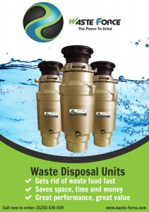 The Waste Force 100 Disposer