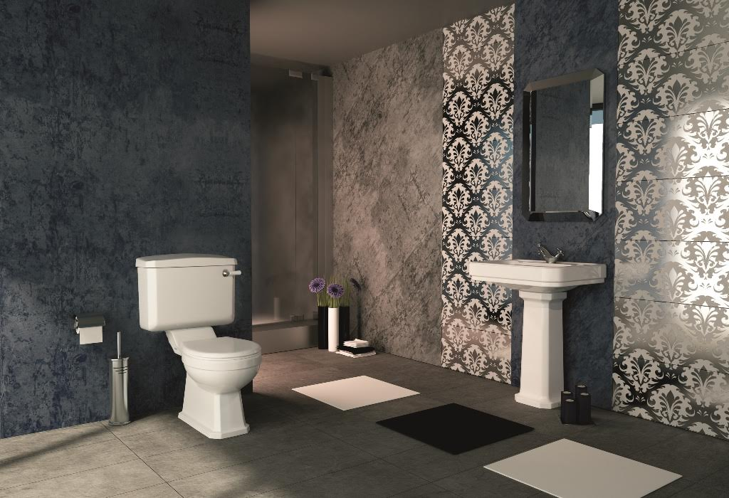 The pure bathroom collection introduce bathrooms inspired for Bathroom ideas 1920s home