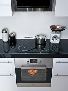 Built in electric oven and hob