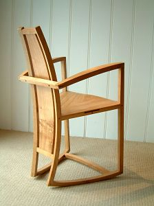 Custom made rocking chair from Angus Ross