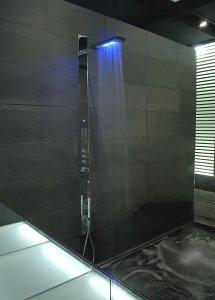 Bathroom wall shower panels