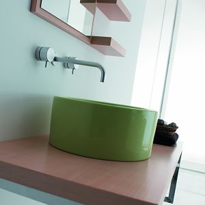 Coloured Bathroom Sinks From Aston Matthews UK Home