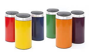 Brabantia Adds 'Top Six Colours' To Its 45 LitreTouch Bin