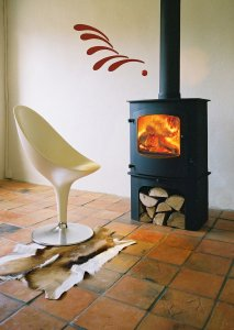 The Cove 2 multifuel stove from Charnwood