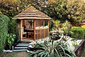 Garden Pavilions That look And Smell Divine