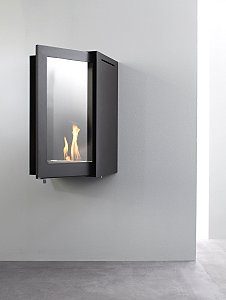 The Flueless Origami Fireplace From Encompass Furniture