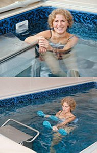 Beneficial Aquatic Therapy In An Endless Pool