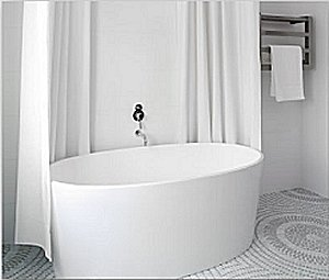 New Sanctuary White Bathrooms from evitavonni