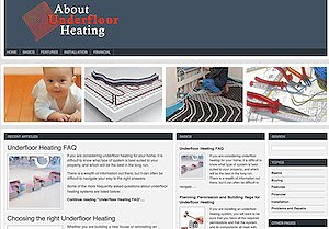 The Definitive New Information Website - AboutUnderfloorHeating