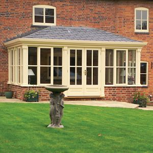 Bring the outside in with a fawsley garden room uk home for Conservatories and garden rooms