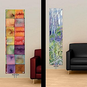 Novel ArtGlass Radiators From The Glass Radiator Co