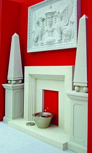 The Deco Chimney Piece from Haddonstone