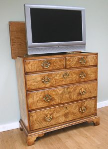 Beautiful tv cabinets from the hidden tv company uk home for Hidden tv cabinets for flat screens