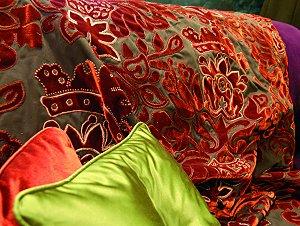Art Nouveau Inspired Appliqué Embroidery