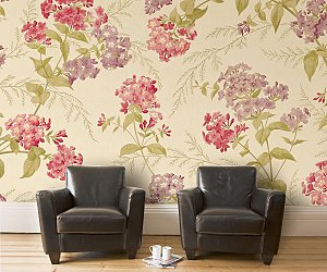 House Couturier's New Collection Of Flora Inspired Wallpapers