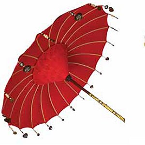 Treat Your Garden To An Indian Inspired Parasol