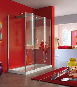 Shower Together With The Jacuzzi Intensa Twin