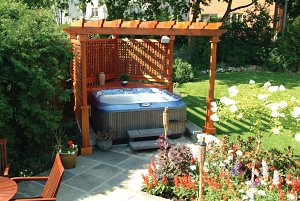 Hot tub gazebo plans diy woodguides for Diy hot tub gazebo