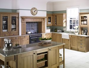 The John Lewis Richmond Kitchen in Solid Oak on UK Home Ideas
