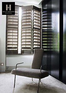 Kelly Hoppen's Unique Range of Bespoke Shutters