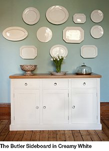 The Kitchen Dresser Company's Furniture Is Hand-Crafted in England.