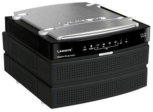 Linksys Smart Network Storage System (NAS200).