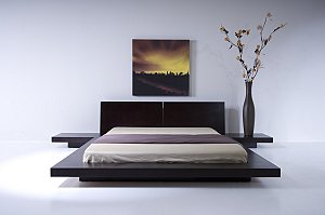 Nina Metal Platform Bed | High End yet Modern Minimalist Iron Bed