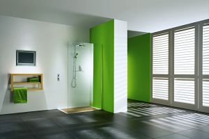 The New Matki Wet Room Panel on UK Home Ideas