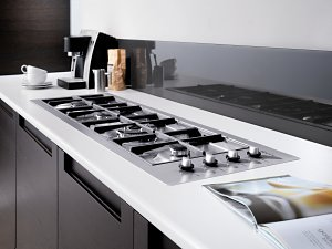 Neff's Attractive New In Line Gas Hob