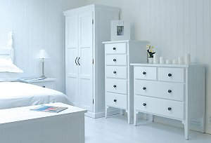White Bedroom Furniture From New England Lifestyle UK