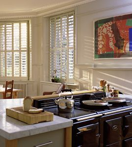 Manhattan Wooden Shutters from The New England Shutter Company