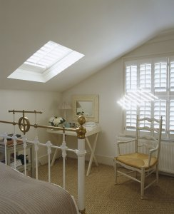 Shutters for Velux Windows from The New England Shutter Company