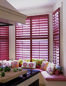 Window Shutters Now In Trendy Pink