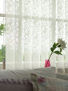 Lacy Vertical Blinds From New House Textiles Uk Home