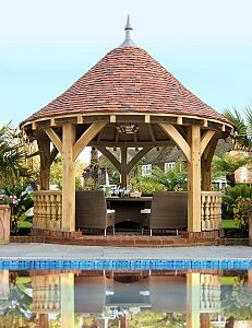 Solid Oak Garden Gazebos From Orlestone Oak Uk Home Ideasuk Home Ideas
