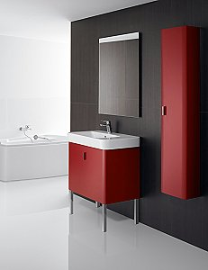 Roca's Senso Square Bathroom Furniture Range