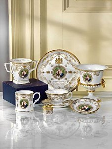 Royal Worcester's Celebratory China For The Royal Wedding